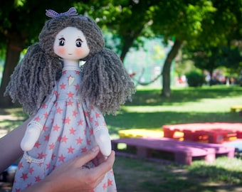Handmade Nora Doll
