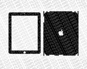 iPad 1 Skin template for cutting or machining - Digital Download | Plotters, CNCs, Laser cutters, Silhouette Cameo, Cricut | 11 Files
