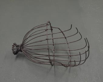 Vintage Apple Picker, Wire Fruit Orchard Tool,  #448