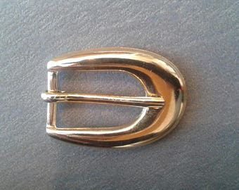 Belt buckle gold passage 1.5 cm