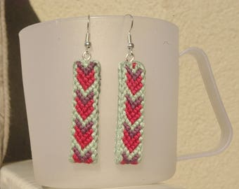 Earrings ethnic style band