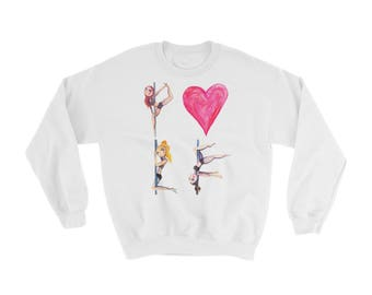 Pole Dance Sweatshirt || POLE LOVE