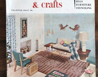 McCalls Needlework and Crafts magazine, Fall - Winter, 1956-1957, Vintage