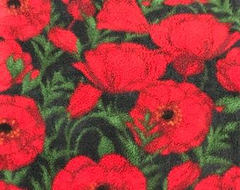 Fleece Big Dog Jacket -  Poppy Fields