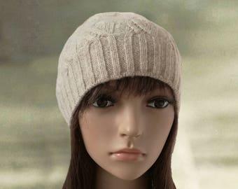 Knit women's beanie, Knitted wool hats, Womens knit caps, Skull caps hat, Winter beanie hat, Women's knitted hat, Knit hats for women,