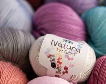 Natura Just Cotton Yarn 50g