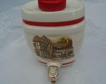 replica of 19th century  English pub barrel