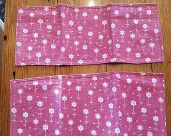 Flannel Burp Cloth Set of 2