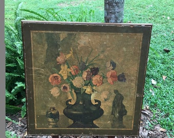 Vintage Card, Folding Table, Victorian