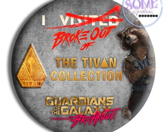 I Broke Out Of The Tivan Collection Button