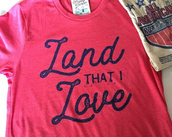 Land that I love tee