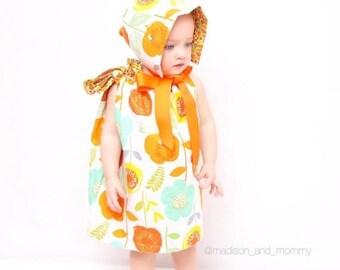 Sale Baby Girl Summer Outfit - Girls Summer Outfit  - Baby Girl Bloomers Set - Baby Girl Easter Outfit - Girls Easter Dress