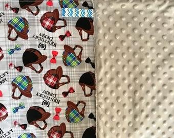 Kentucky Derby 6 piece baby set