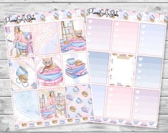 bookwurm planner sticker kit