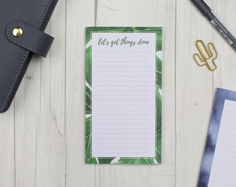 """Notepad """"Let's get things done"""" - 50 sheets"""