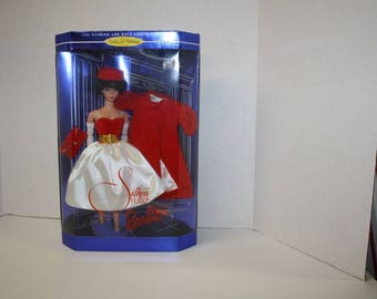 Barbie Silken Flame ~ Barbie Reproduction 1998 Doll ~ Barbie Mattel Doll ~  Barbie 1958 head Reproduction Doll ~ Mattel Barbie Doll  ~ NRFB