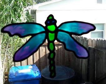 Gallery Glass Window Clings Dragonfly
