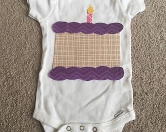 Birthday Cake Shirt/Onesie