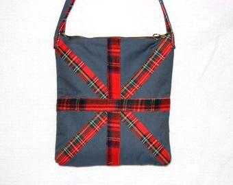 Sale Denim bag\england flag bag\flag bag\upcycled recycled\applique\jeans bag\study tote bag\sale bag\london bag\england bag\london tote