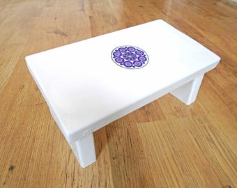 meditation stool etsy. Black Bedroom Furniture Sets. Home Design Ideas