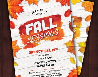 Fall Sessions Flyer