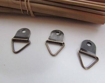 metal bronze - 21 x 13 mm - ref 26.38 frame 20 ties