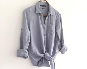 Vintage Linen Shirt
