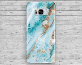 Monogram Galaxy S8 Case Galaxy S8 plus Case Marble Galaxy S7 Case Galaxy S7 Edge Case Galaxy S6 Edge Plus Case Galaxy S5 Galaxy Note 5 Case