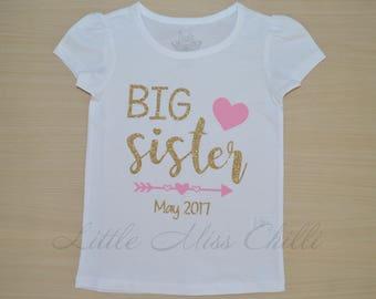 Big Sister Onesie or Tee