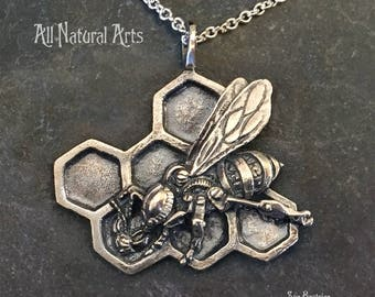 The Honey Bee (Sterling Silver)