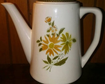 Bellegay Ironstone Coffee Pot