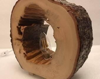 L17006 wood Lamp