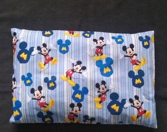 mickey mouse colorful pillow case newborn pillow case toddler pillow case children pillow