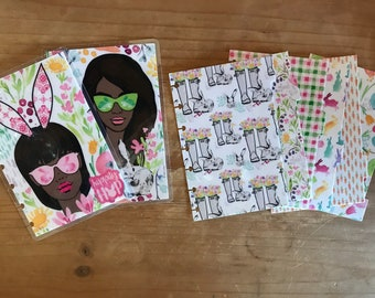 Easter Day happy planner covers. Me and by big ideas. Happy planner cover. Classic happy planner. Mini happy planner. Supplies