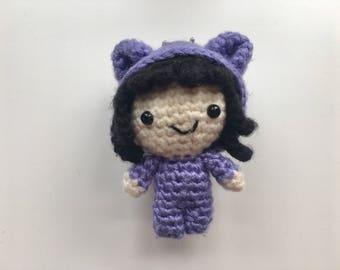 made-to-order | cute mini Ada - chibi Ada - handmade crochet - amigurumi - plush - toy