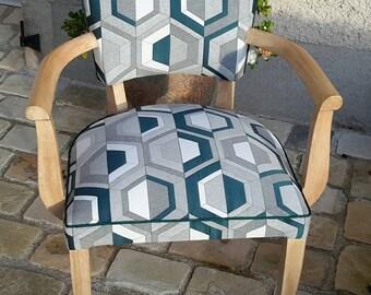Chair bridge vintage revamped 50 years.