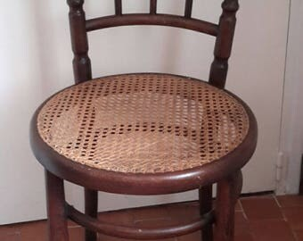 "Chair stamped French bistro ""fischel"" famous Austrian brand"