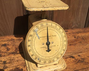 Antique Columbia Family Kitchen Scale