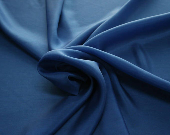 402141-taffeta natural silk 100%, width 110 cm, made in India, can be used liner, dry wash, weight 58 gr