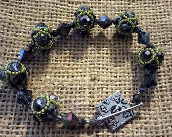 Beaded Bead Bracelet