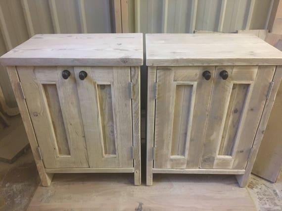 York Reclaimed Wood Washstand Handmade Bespoke