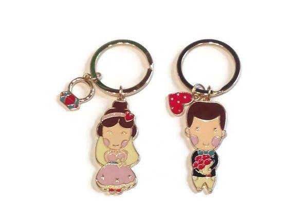 Keychain For Wedding Gift : ... , wedding day wedding, Valentine gift, gift, gift for her, keychains