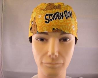Men's Scrub Hat Scooby Doo
