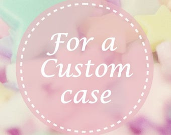 Build your own case ! Create your own phone customized case ! Custom case for every model!