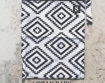 Aztec Wet Bag, Diaper Storage Bag, Travel Bag, Swim Bag, Waterproof Bag, Nappy Bag, Cloth Diaper Bag, TPU, Modern, Diaper Cover