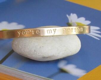 Best Friend Gift Custom bracelet Best Friend Birthday Gift Greys Anatomy gift Best Friend Bracelet You're My Person bracelet Youre my Person