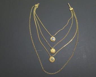Signed Fiorenzo Layered Necklace
