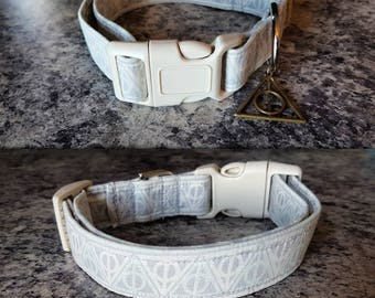 Hallows inspired dog collar - improved design