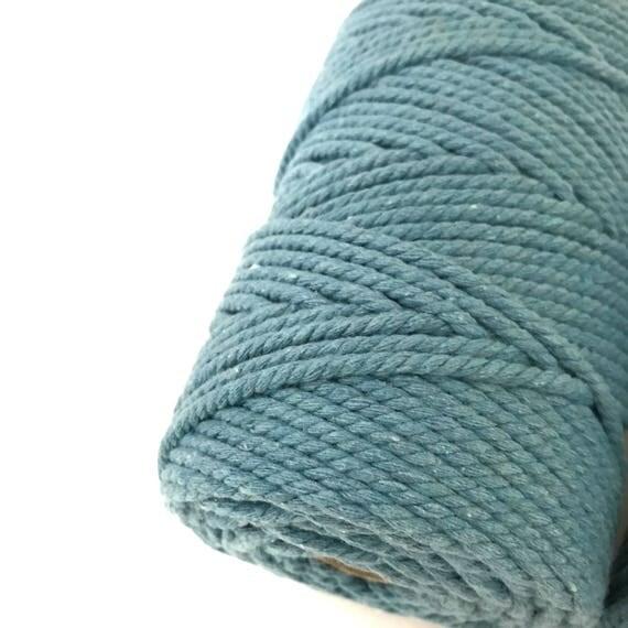 BABY BLUE Macrame Cord