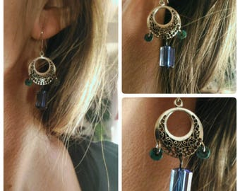 Dangle Bohemian earrings